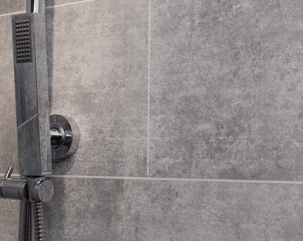 Grey Stone Tile Bathroom Cladding Direct