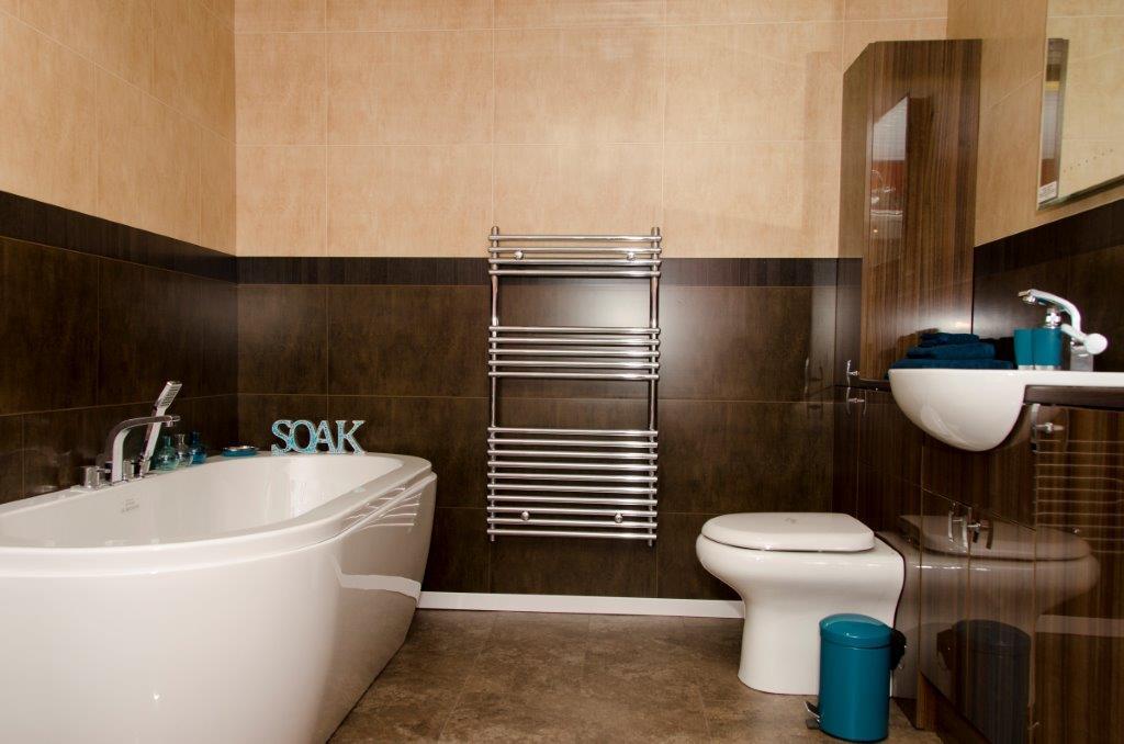 Salle de bain beige marron id es de - Salle de bain beige et marron ...