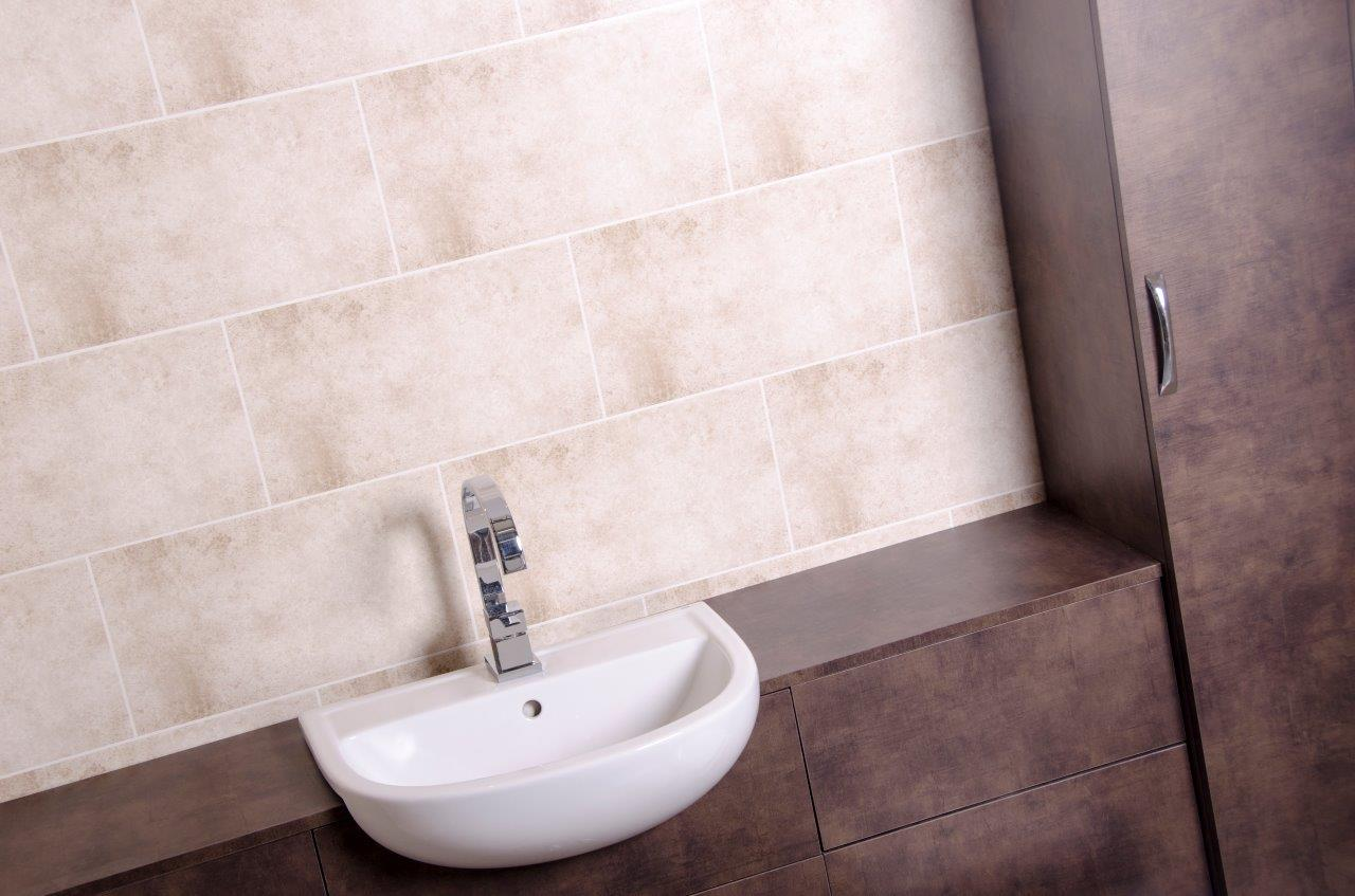 Waterproof bathroom panels uk - You Won T Believe It S Not Tiles