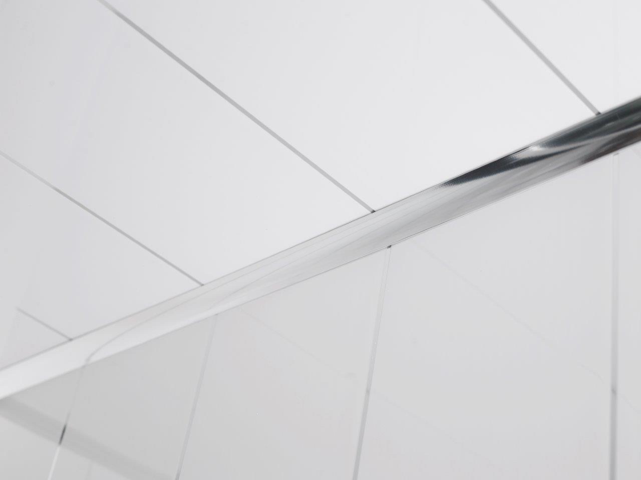 Plastic bathroom ceiling cladding - Whites