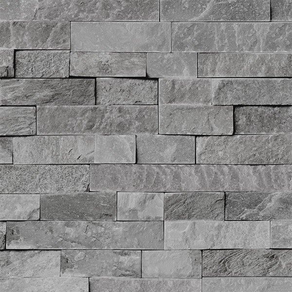 Grey Split Stone Bathroom Cladding Direct