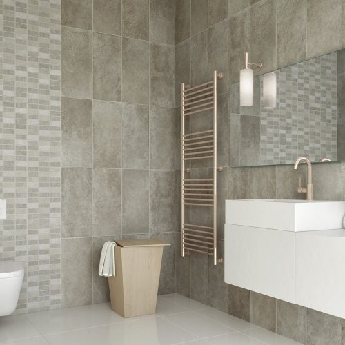 Wall cladding for bathrooms
