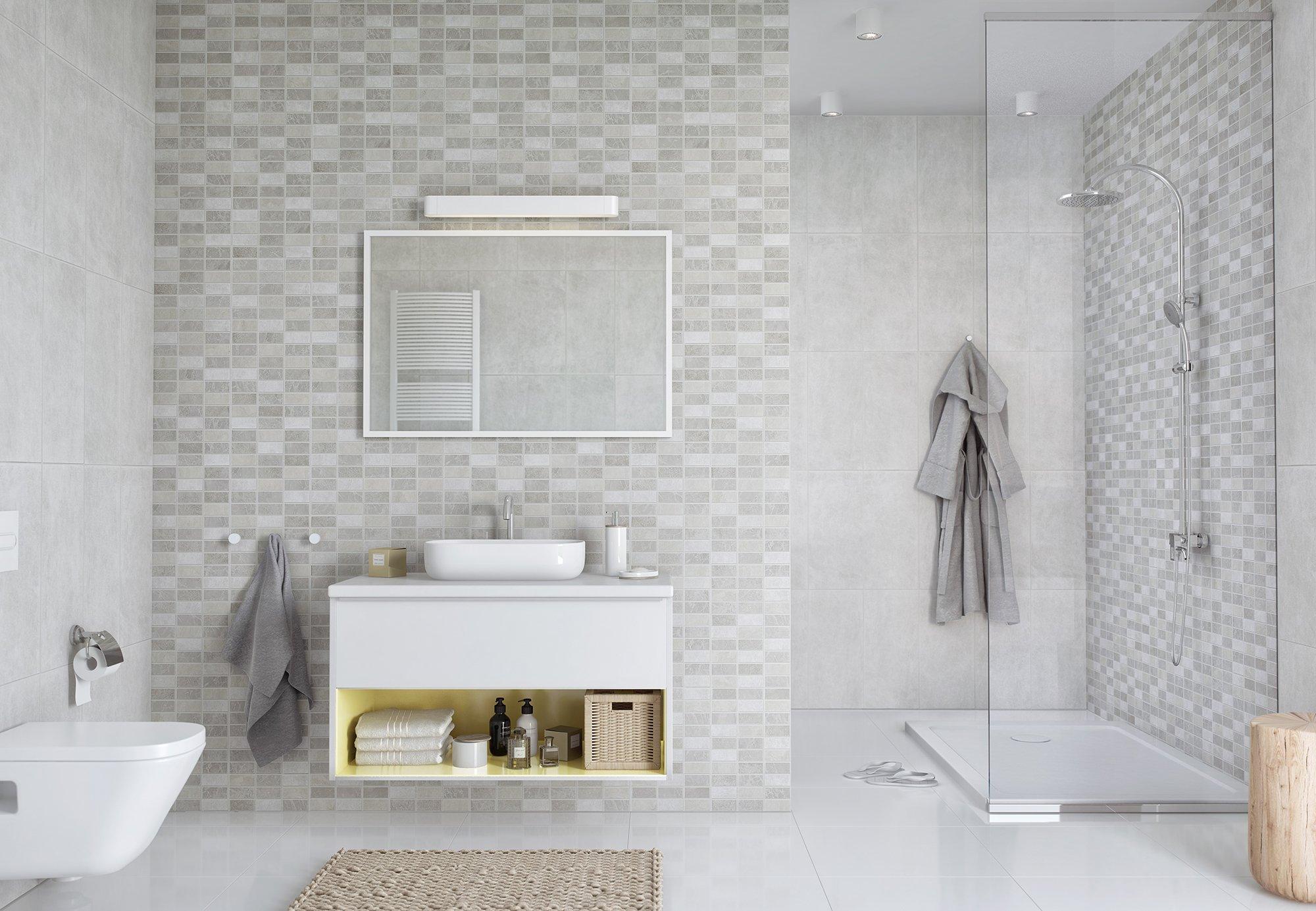 Marmo Marble Mosaic Bathroom Cladding Direct