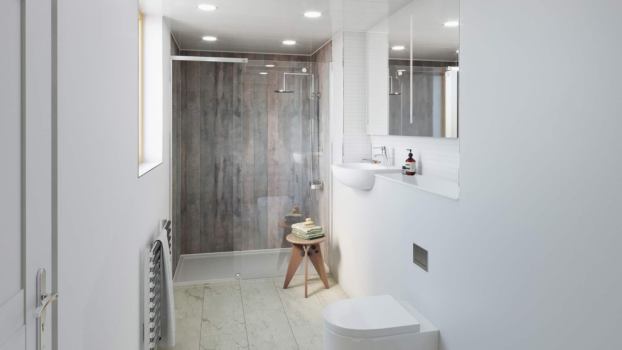 Concrete Formwood Bathroom Cladding Direct