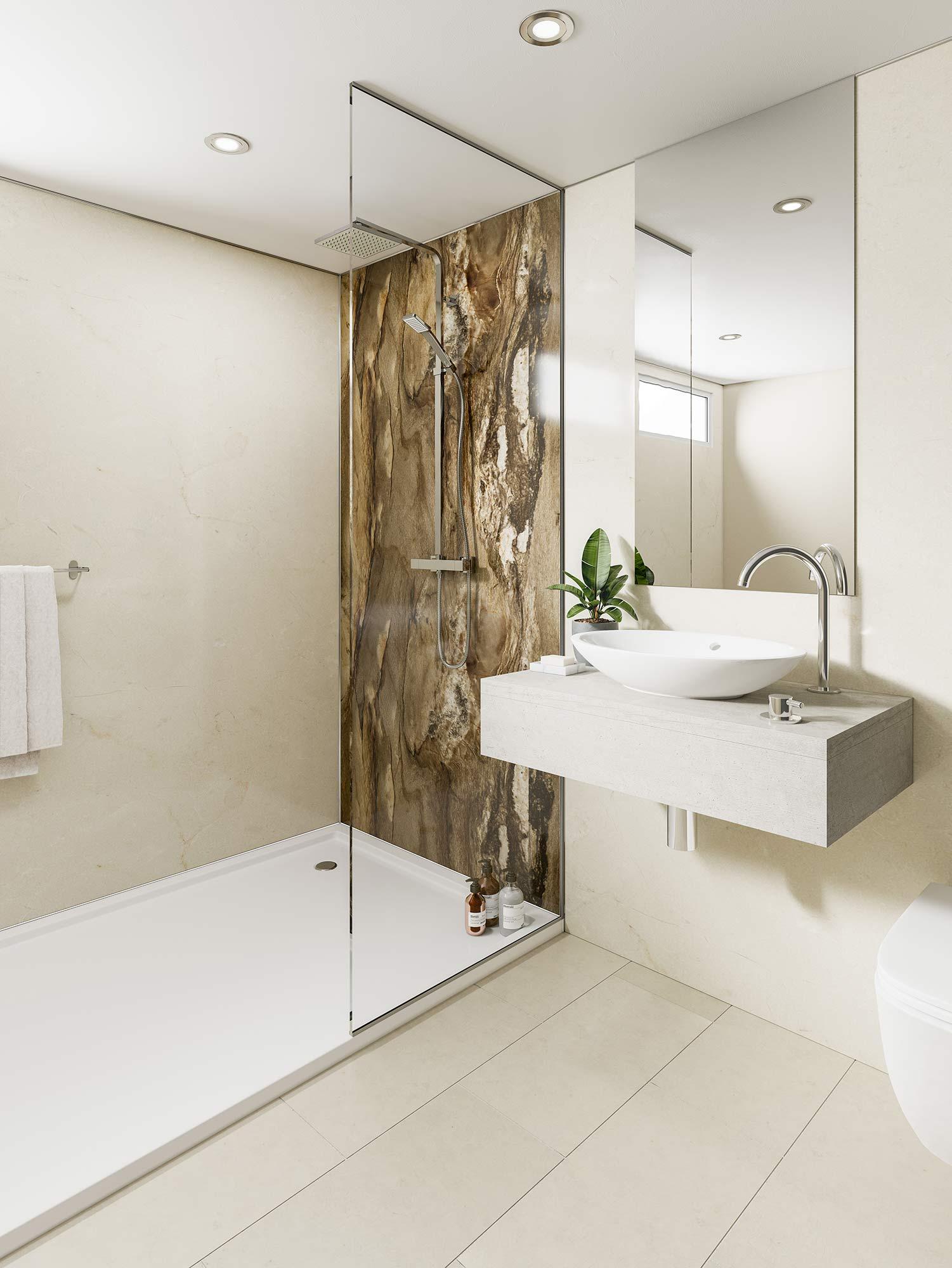 Dolce Macchiato Bathroom Cladding Direct