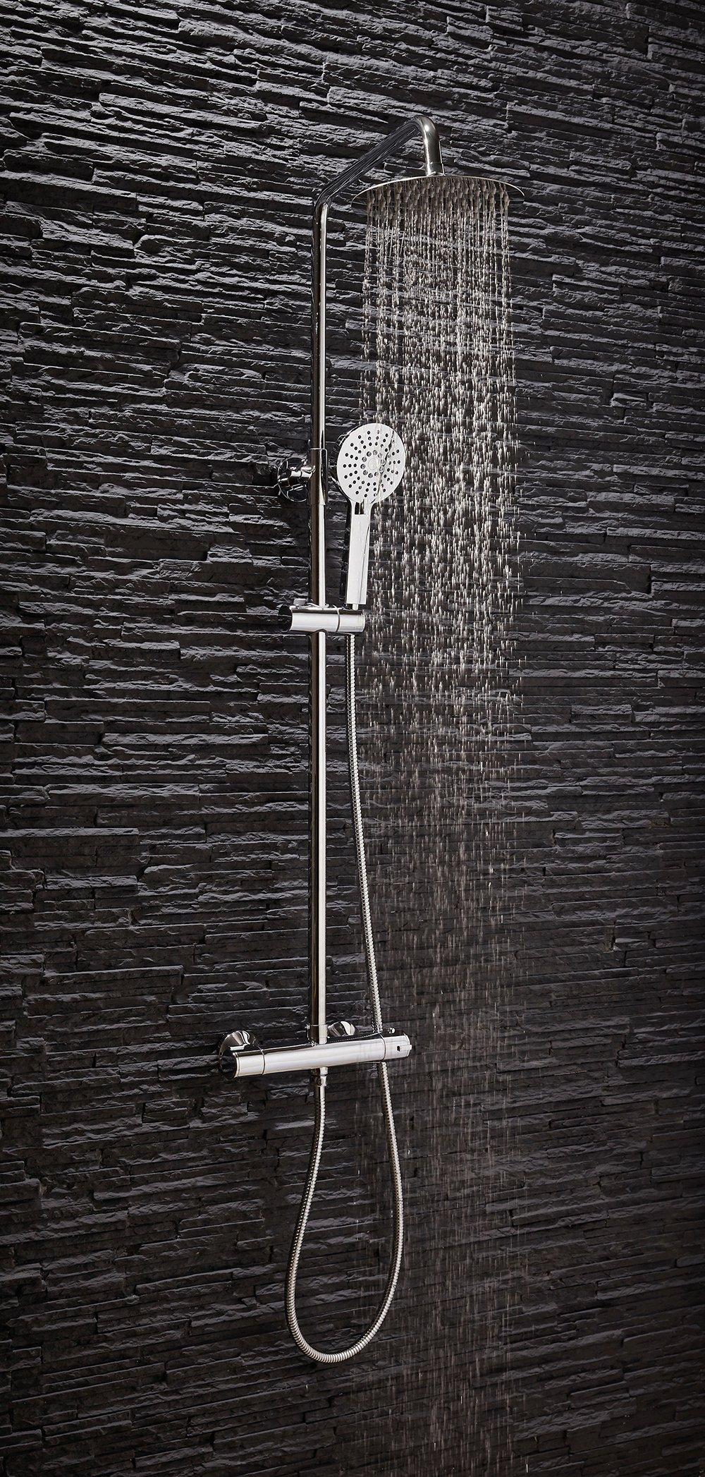 Round Overhead Shower