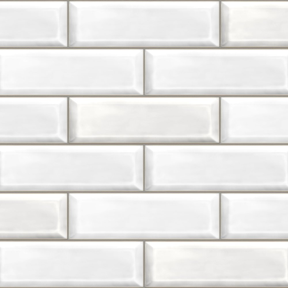 White Brick Free Sample Bathroom Cladding Direct