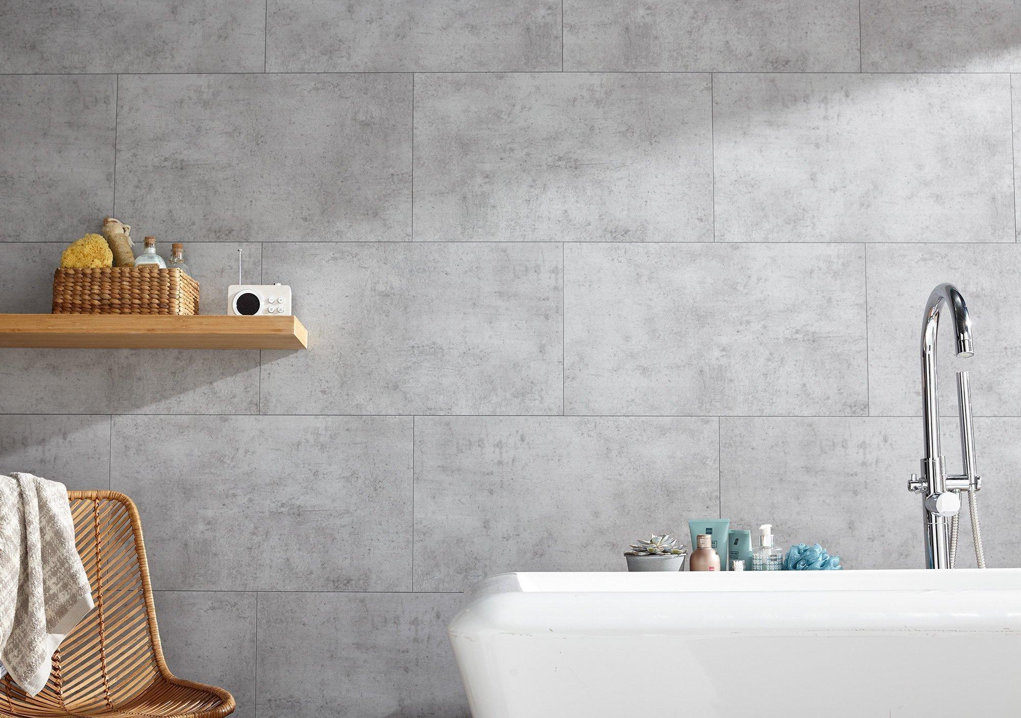 Dumawall Plus Tile Effect Cladding | Bathroom Cladding Direct