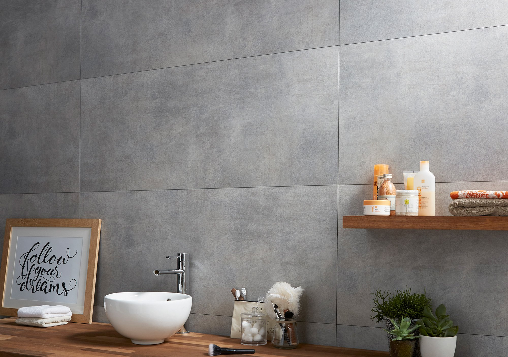 Dumawall Plus Tile Effect Cladding Bathroom Cladding Direct